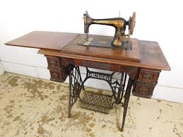 White Sewing Machine Cabinet by Antique 1902 Singer 27 Treadle Sewing Machine Cabinet Egyptian