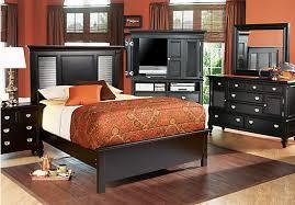 shop bedroom sets belmar black 5 pc king bedroom queen bedroom queen bedroom sets