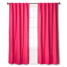 Magenta Curtain Panels Curtains Pink And Purple Target