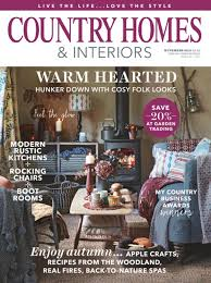 country home and interiors magazine home design and style