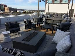 first look little rock hotel opens rooftop bar with downtown views
