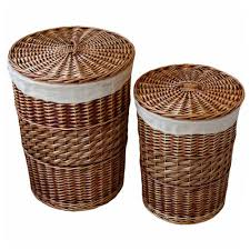 large wicker baskets with lids aliexpress com buy home storage organization handmade woven