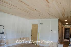 Laminate Flooring Without Beading How To Plank A Popcorn Ceiling
