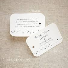 wedding almonds sugared almonds personalized gift tags almond favor