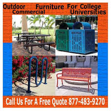 Commercial Outdoor Tables Recommended Commercial Outdoor Furniture For Universities And
