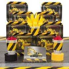 Construction Party Centerpieces by Construction Party Deluxe Kit Serves 8 Guests 14 50
