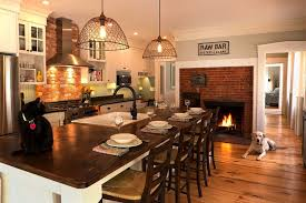kitchen fireplace designs 25 fabulous kitchens showcasing warm and cozy fireplaces
