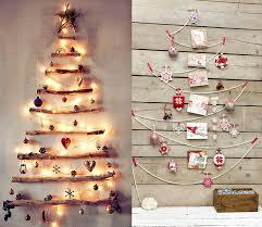 diy wall christmas tree ideas with lights too diy lifestyle