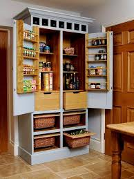 Kitchen Storage Cabinets Pantry Gorgeous Free Standing Kitchen Storage Cabinets The 25 Best Within