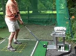opening a backyard driving range outdoor design and ideas