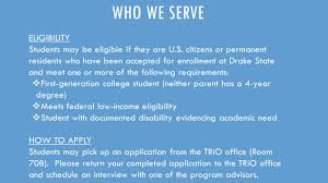 drake state community and technical college student support services