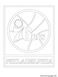 new york knicks coloring pages philadelphia 76ers logo nba sport coloring pages printable