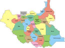 Map Of Eastern States by States Of South Sudan Wikipedia