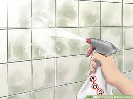 Ways To Remove Bathroom Mold WikiHow - Removing mildew from bathroom walls 2