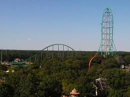 Kingda Kong Six Flags Kingda Ka From The Skyway In Sfga Today Rollercoasters