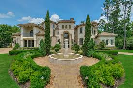 mediterranean mansion 4 incredible mediterranean mansions for sale in the woodlands