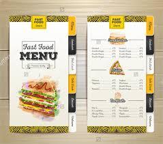 food menu template restaurant flyer food menu template psd