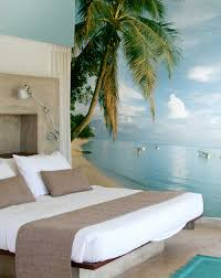 wall mural ideas diy inspiration for home decor tropical bedroom mural