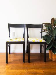 Printed Dining Chairs Diy Upholstered Dining Room Chairs Sarah Hearts