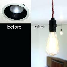 Convert Recessed Light To Pendant Convert Recessed Light To Pendant Light Dining Room Outstanding