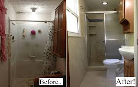bathroom remodeling pictures before and after awesome before uamp