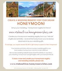 create your own wedding registry honeymoon registry honeymoonwishes
