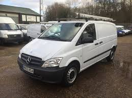 used mercedes benz vito 113 cdi swb compact roof rack white