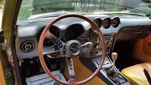 nissan fairlady 240z interior fresh outta the barn 1972 datsun 240z