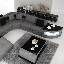 Modern Fabric Sofa Sets Sumeng Modern Fabric Sofa Set Pictures With Led Light View Fabric