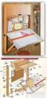 fold down drafting table plans workshop solutions projects tips