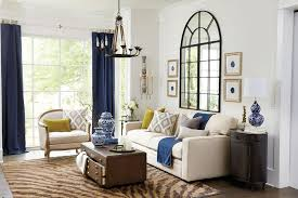 Contemporary Living Room With Wall Sconce By Ballard Designs - Ballard designs living room