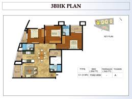 3 bhk 1600 sq ft apartment for sale in kolte patil mirabilis at