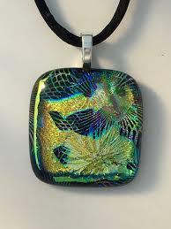 art glass necklace pendant images Dichroic glass jewelry samples melissa mccann glass art jpg