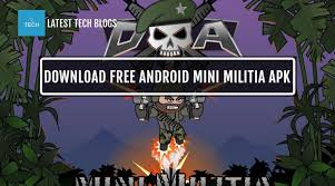 apk free free android mini militia official unlimited health
