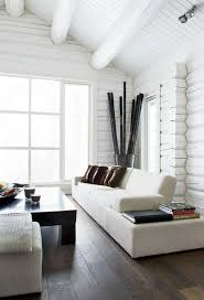 home interiors wall white log cabin bedrooms log cabins cabin and logs
