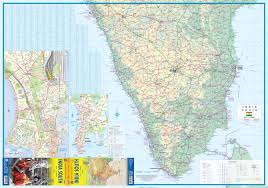 South India Map by Maps For Travel City Maps Road Maps Guides Globes Topographic