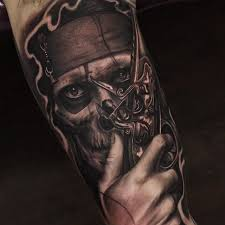 best 25 pirate skull tattoo designs ideas on pinterest pirate