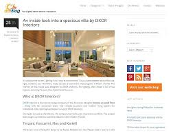 Dutch Blog Features Dkor Residential Interior Design From Dkor