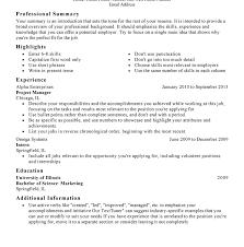 Resume Present Tense Download Resume Outlines Haadyaooverbayresort Com