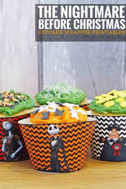 halloween candy sale cupcake wrappers the nightmare before christmas crafty october