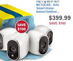 black friday sales on cameras 399 99 netgear arlo smart home indoor outdoor wireless high