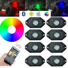 jeep wrangler rgb rock lights leds 4 less free shipping