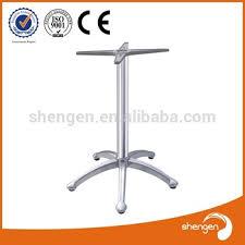Aluminum Pedestal Hd336 5 Legs Cast Aluminum Round Table Leg Aluminum Pedestal