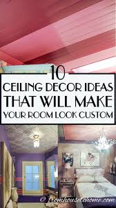 10 easy ways to decorate the ceiling on a budget white ceiling