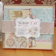 wedding scrapbook album diy photo album kit vintage scrapbook album set for kid