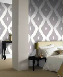 buy graham u0026 brown ikat wallpaper soft grey from our wallpaper