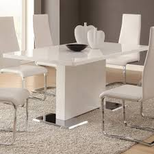 round dining table with leaf modern tags classy modern kitchen