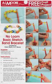 make rubber bracelet images Remarkable design how to make a bracelet with rubber bands 7 best jpg