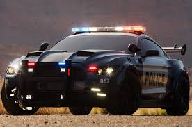 transformers barricade is a badass ford mustang cop car