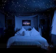 glow in the dark bedroom glow in the dark star stickers 200 1000 stickers diy 3d